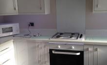 White Hi Gloss Lusso kitchen